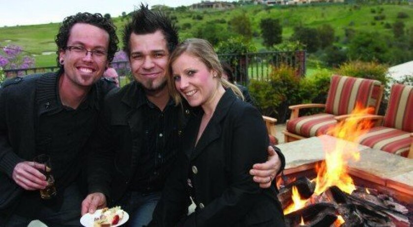 Kory Maine, Dan and Danielle Elliott (Photo: Jon Clark)