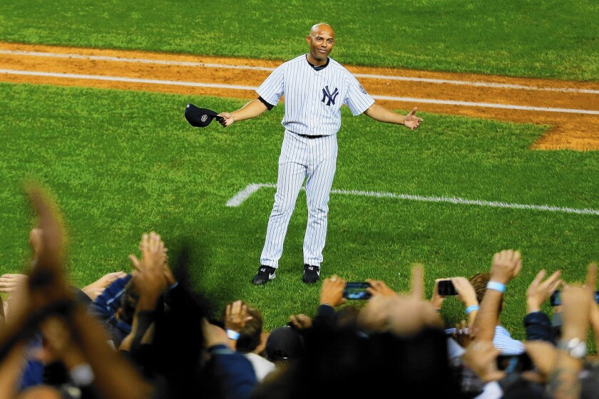 "Review: Mariano Rivera sticks mostly to softball in ""The Closer"""