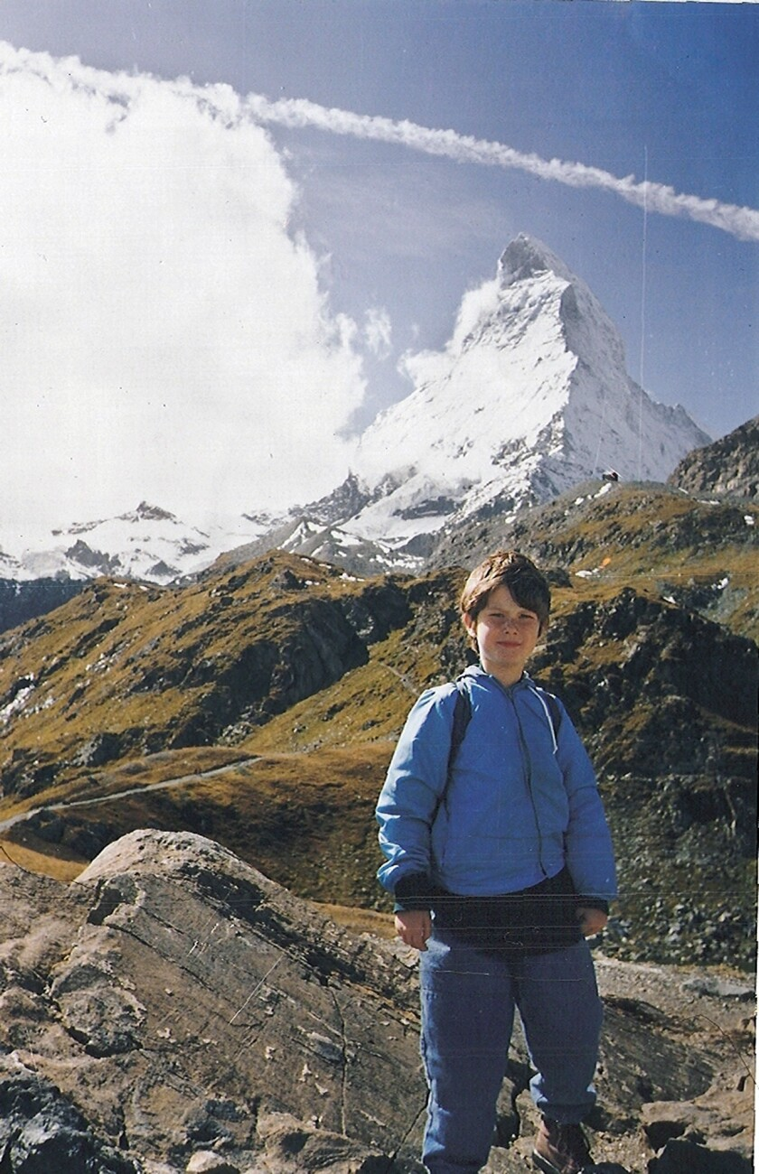 Nicholas Green, 7, on vacation in Switzerland a few days before he was killed in 1994 while his family drove through Italy. (Reg Green)