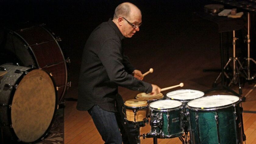 Percussion master and UC San Diego music professor Steven Schick will conduct at least six concerts