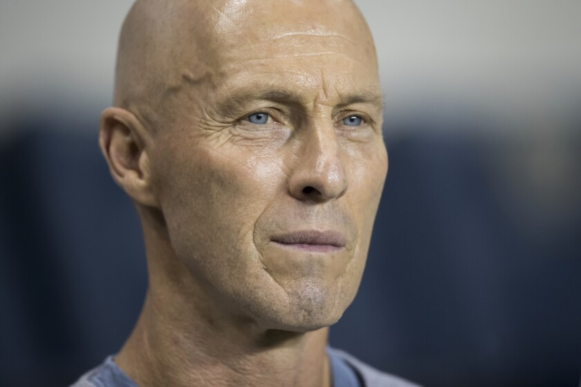 Coach Bob Bradley guided LAFC to the best regular-season record in MLS history and a spot in Tuesday's Western Conference championship game against the Seattle Sounders.
