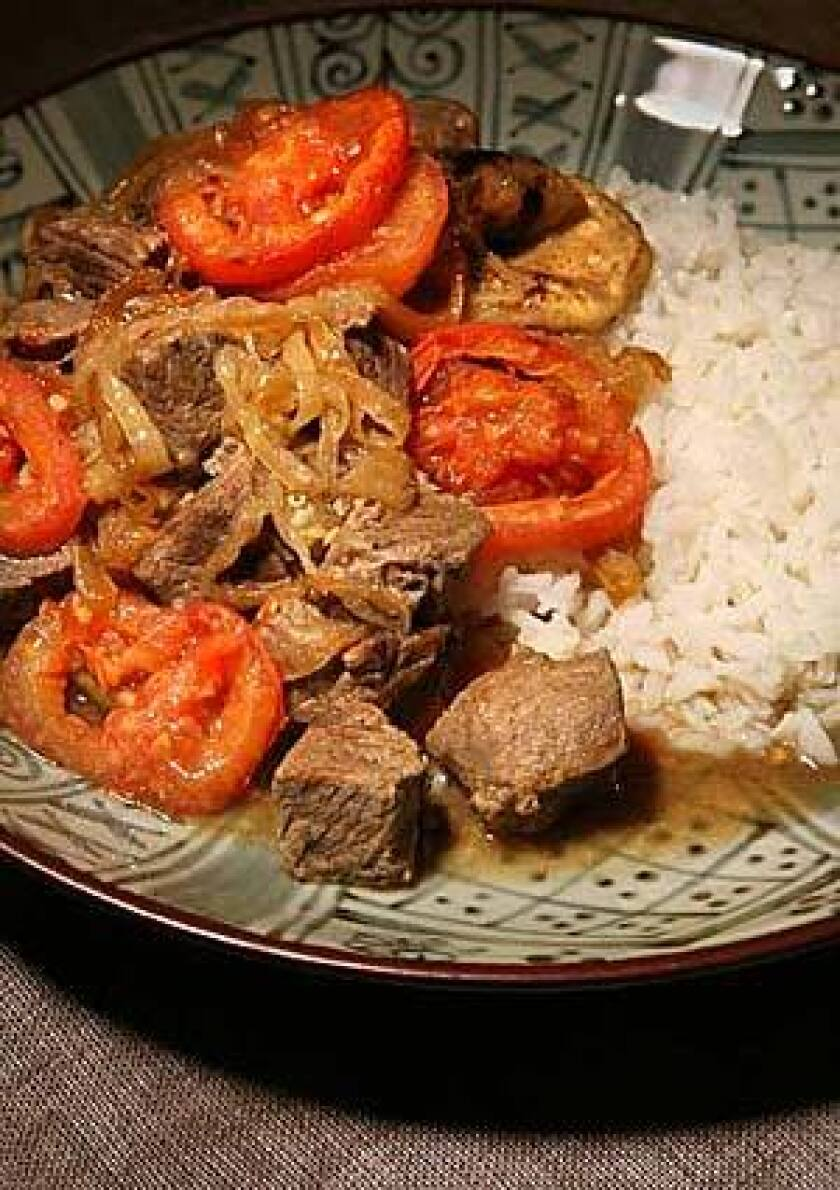Recipe: Ingriyi (sweet and sour meat and eggplant) - Los