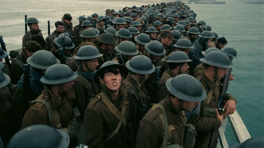 """A scene from the film """"Dunkirk."""" Credit: Warner Bros. Pictures"""