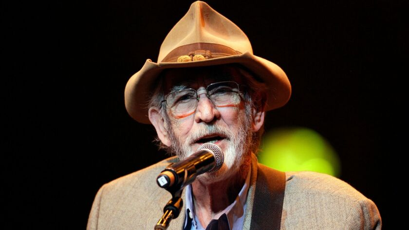 Don Williams performs during the All for the Hall concert in Nashville, Tenn. in 2012.
