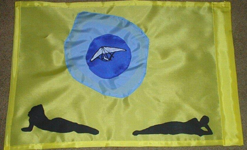 Flag of the Black's Beach Bares