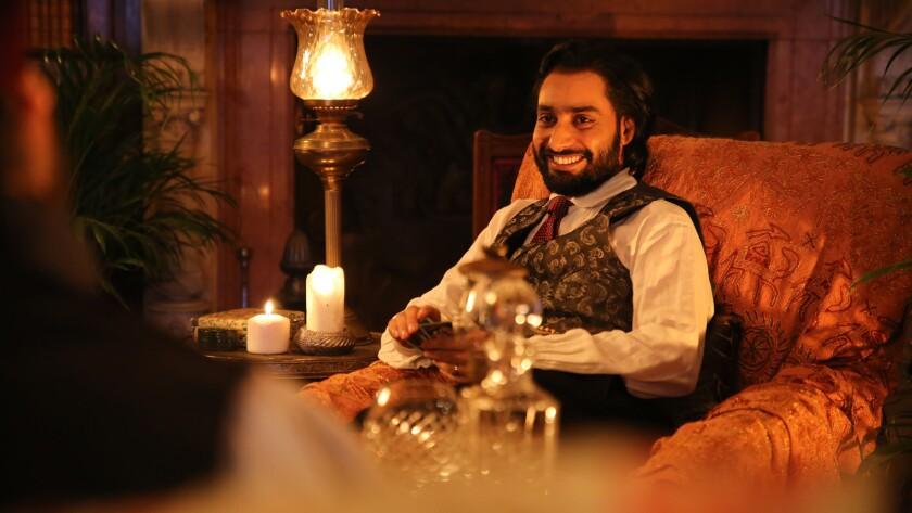 Satinder Sartaaj in a scene from the movie The Black Prince. Credit: Manoj Ricky