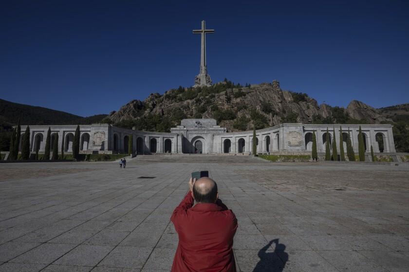Valley of the Fallen mausoleum near El Escorial, Spain