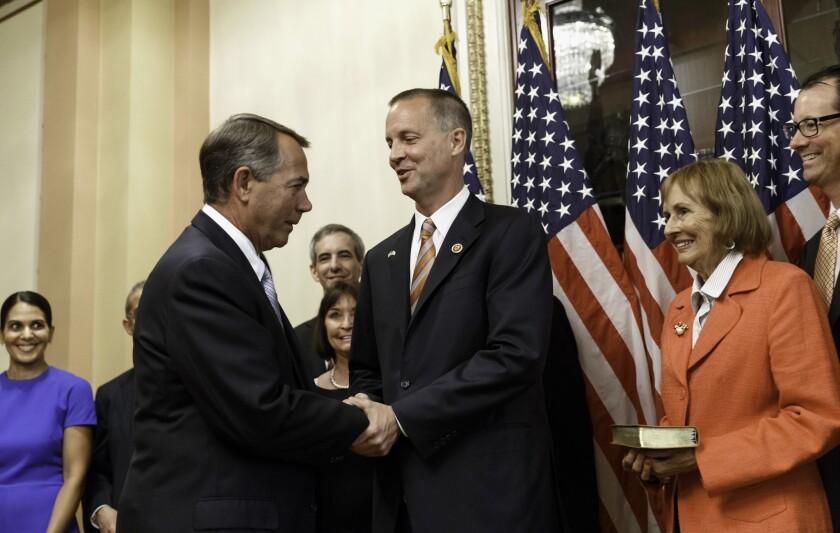 Curt Clawson, John Boehner, Cherie Clawson