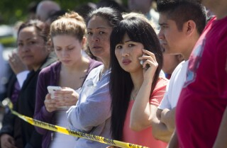 Student, gunman dead in Oregon high school shooting