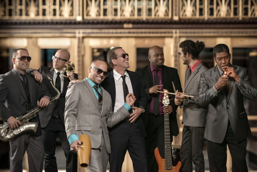 Tiempo Libre's Cuban musical fusions at Broad Stage on Saturday