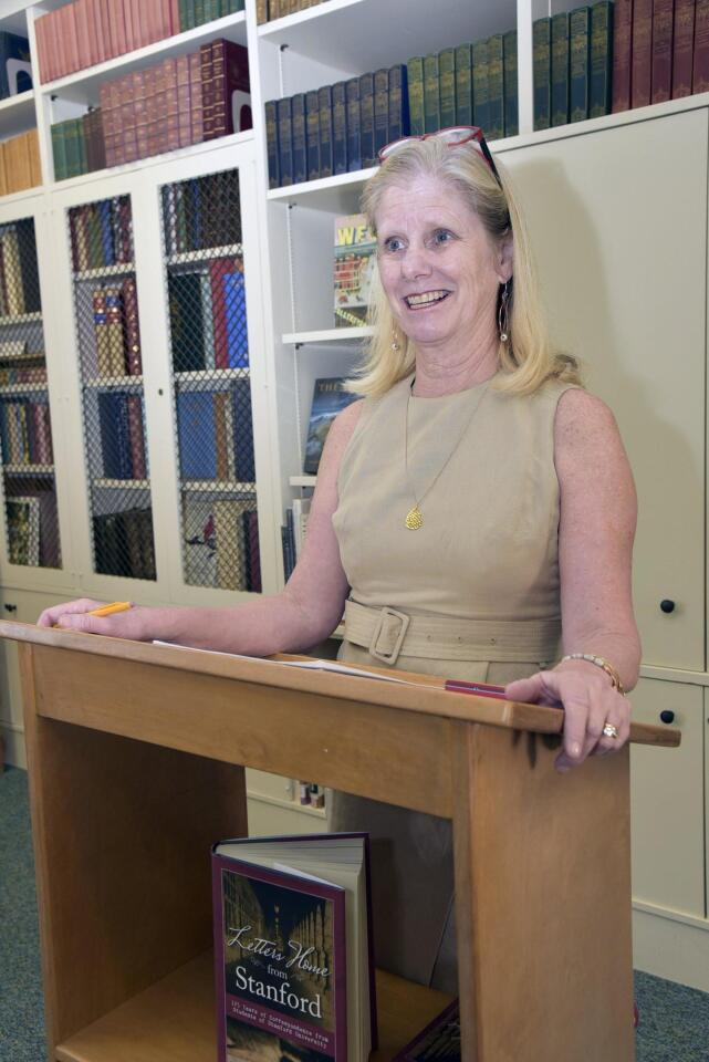 RSF Library hosts 'Letters Home from Stanford' author