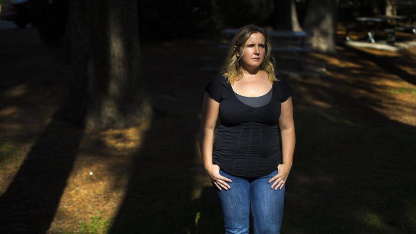 Para muchos supervivientes del ataque de San Bernardino, entre ellos Sally Cardinale, de Redlands, el tiroteo en Orlando revivió el horror de ese día (Gina Ferazzi/Los Angeles Times).