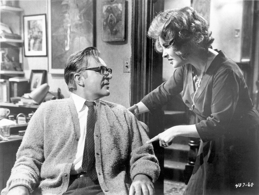 "Richard Burton and Elizabeth Taylor in ""Who's Afraid of Virginia Woolf?"""