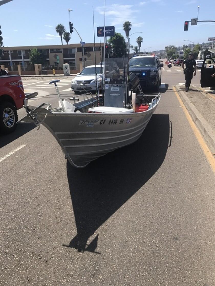 Point Loma boat