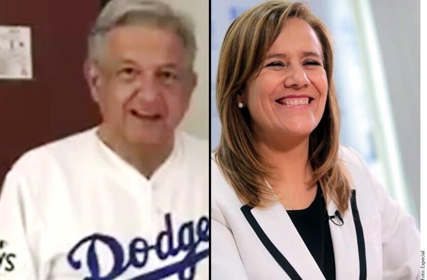 En el marco del sexto juego, donde los Dodgers empataron la Serie y obligaron a los Astros a un definitivo séptimo juego, la candidata independiente Margarita Zavala afirmó que coincide con Obrador en que los angelinos deben llevarse la Serie Mundial.