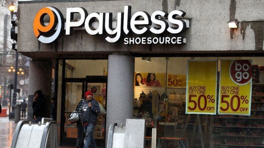 Payless Shoes Files For Second Bankruptcy
