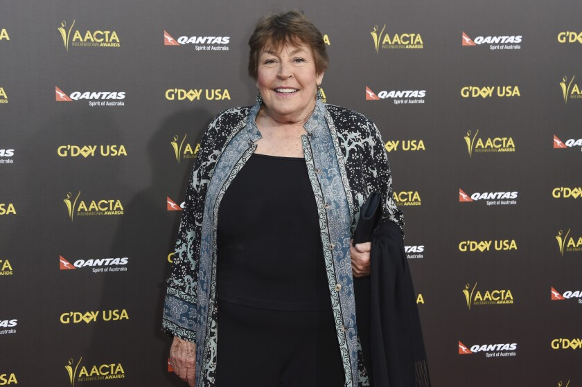 In this Jan. 31, 2015 photo, singer Helen Reddy attends the 2015 G'DAY USA GALA at the Hollywood Palladium, in Los Angeles.