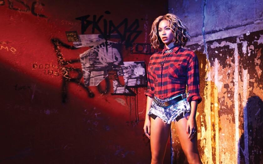 La cantante Beyoncé en una foto de archivo.