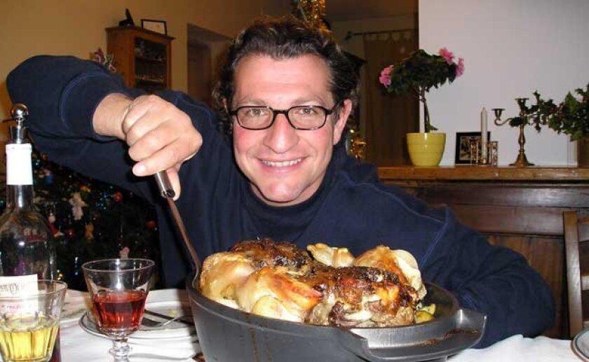 Fabrice Poigin, private chef, restaurant consultant and U-T Superdiner.