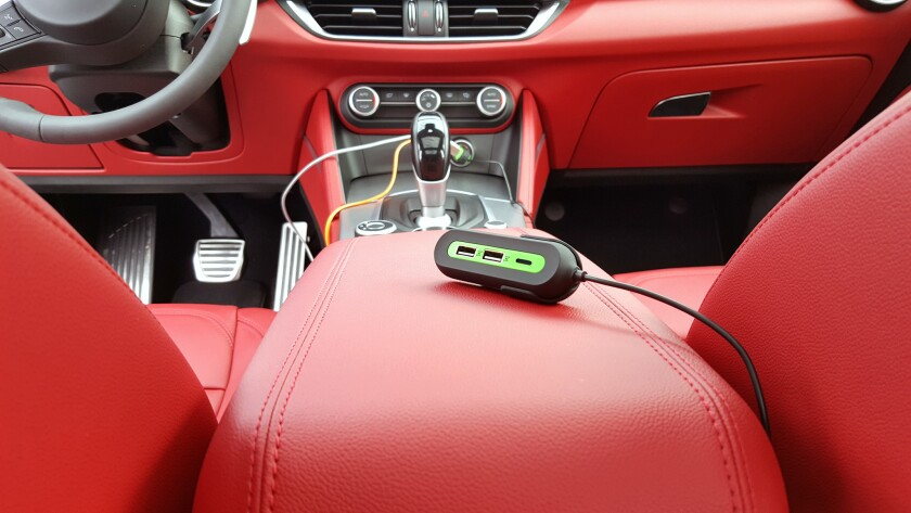 San Clemente-based RapidX launched the X5+, a car charger that offers rapid charging for up to five