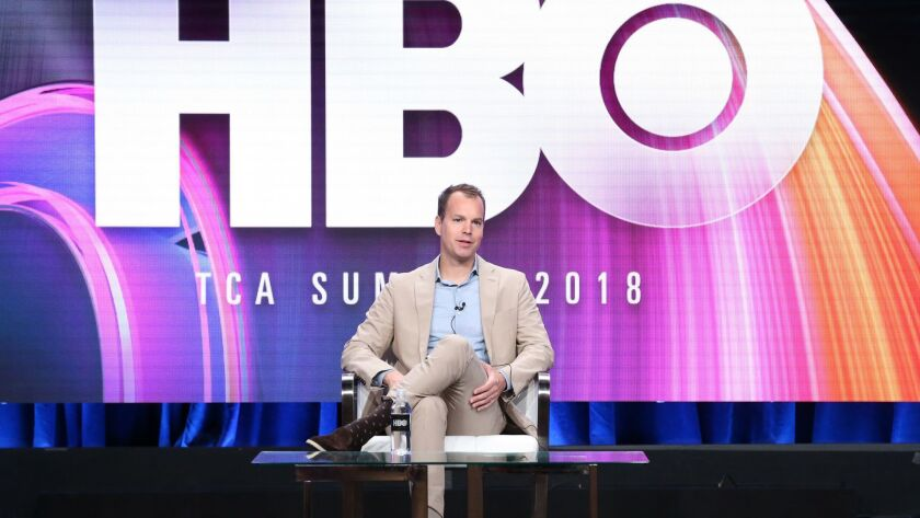 HBO programming president Casey Bloys at the Summer 2018 TCA Press Tour.