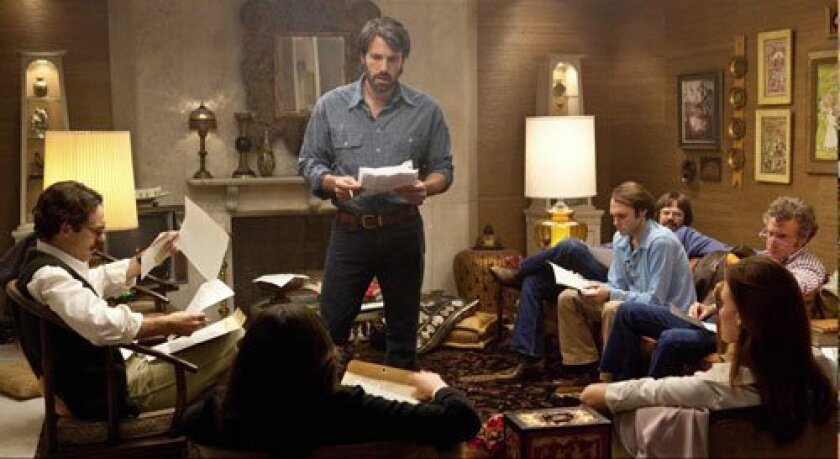 Ben Affleck stars and directs 'Argo,' a critics'-favorite, which dramatizes the events surrounding the rescue of American civil service staff following the 1979 takeover of the U.S. Embassy in Iran.  Courtesy