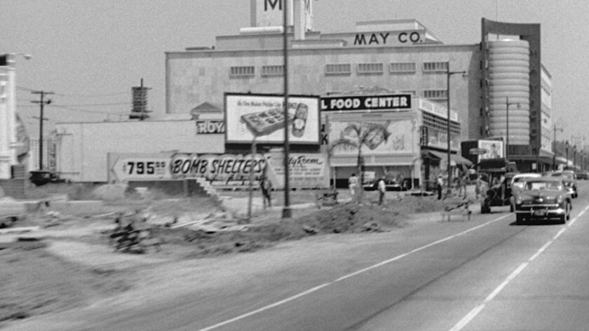 Wilshire Boulevard in Lost Landscapes of Los Angeles