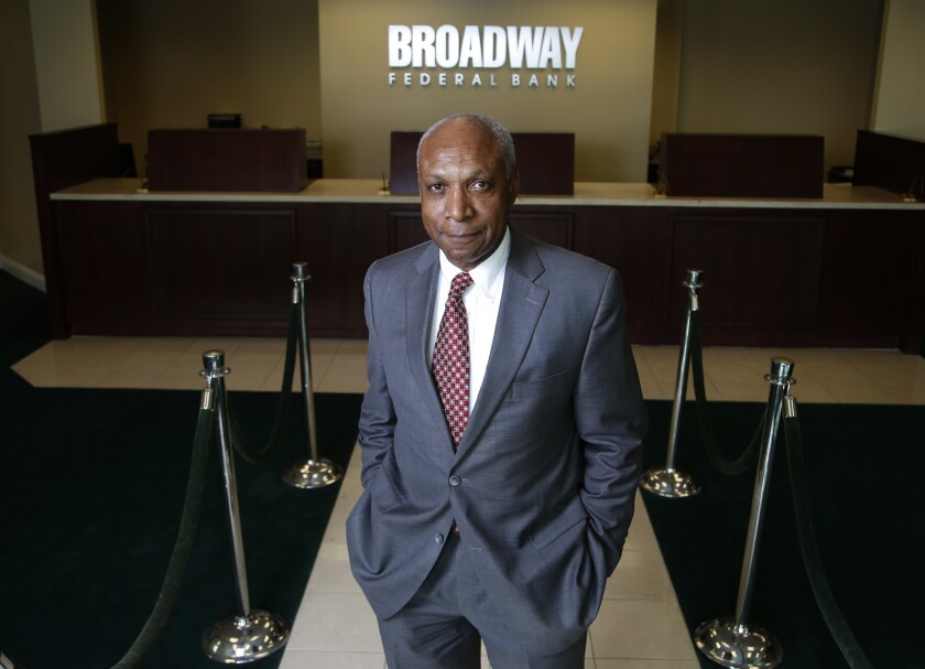 Wayne-Kent Bradshaw, chief executive of Broadway Federal Bank, said a scheme run by a former loan officer led to losses of as much as $30 million.