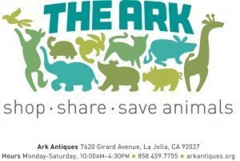 The new logo for Ark Antiques.