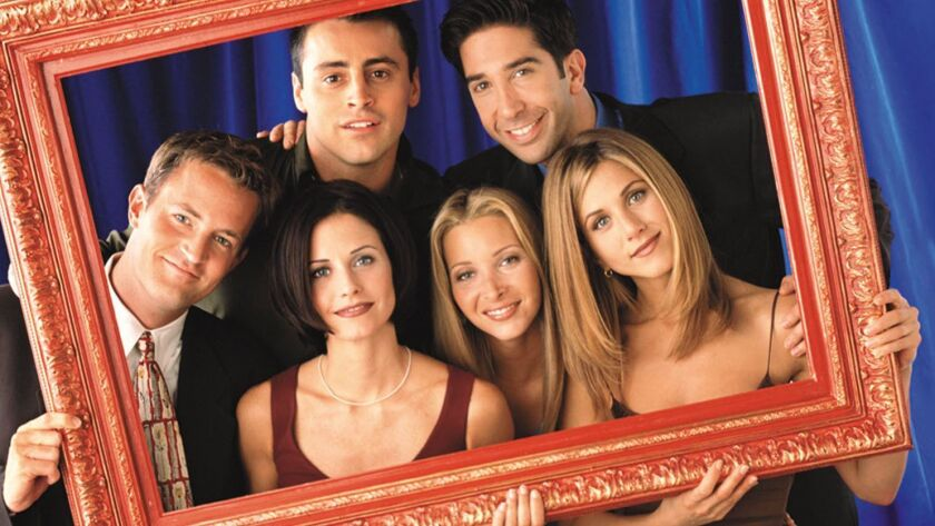 """Friends"" cast"