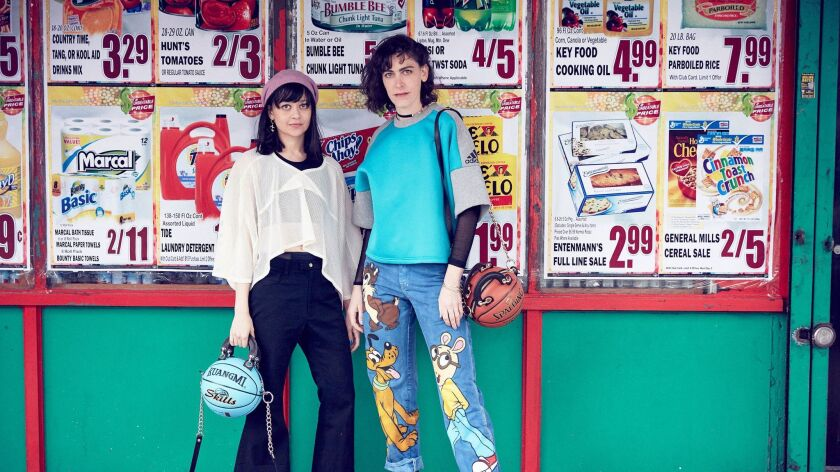 Artist Andrea Bergart has launched a line of basketball handbags. Each bag will be sold directly out