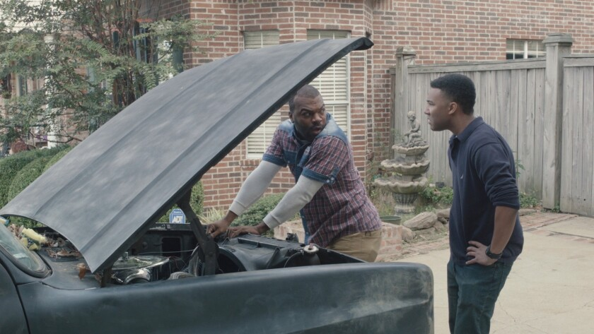 """Ray Grady, left, and Justin Warren in the movie """"Then There Was Joe."""""""