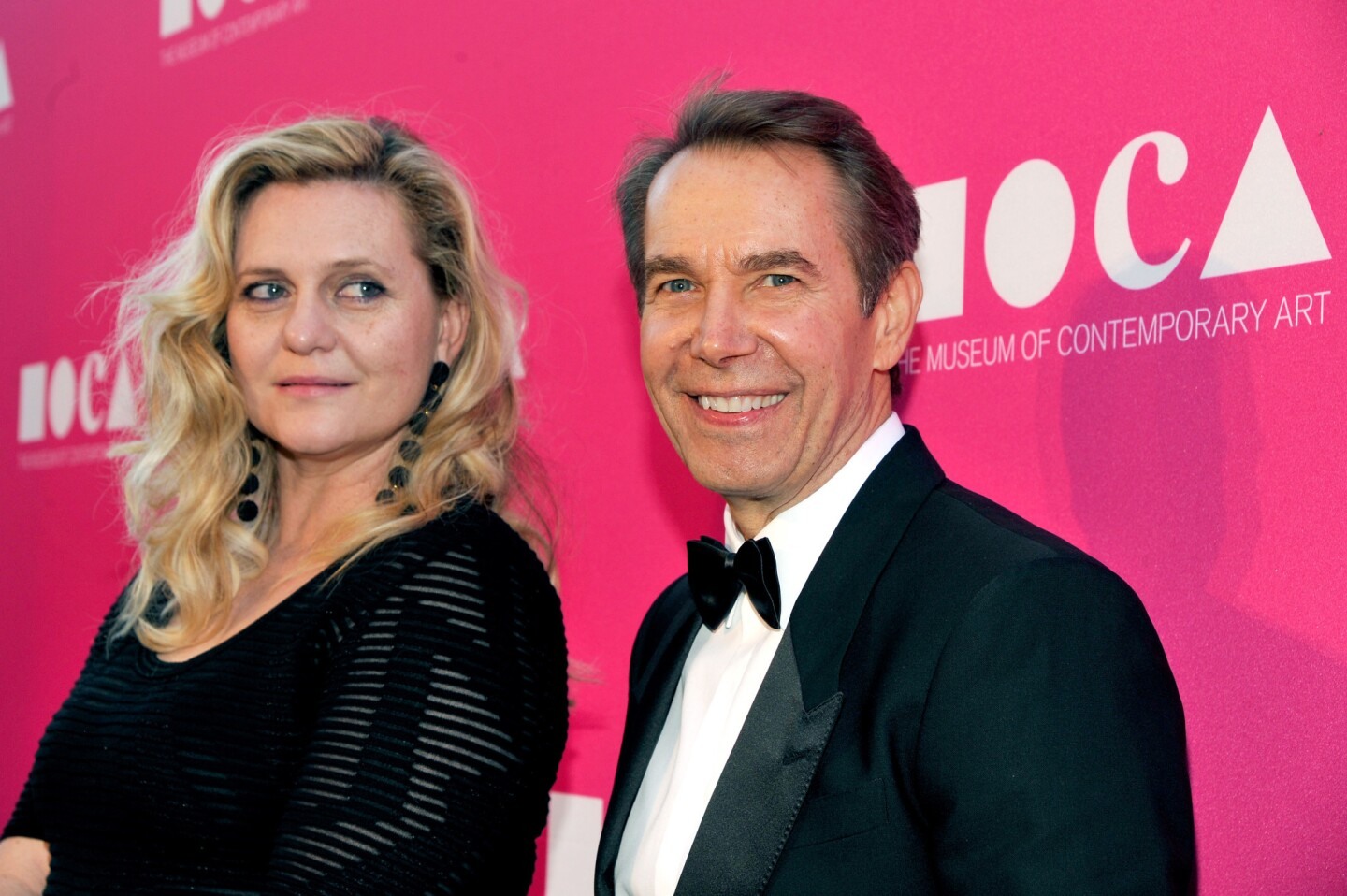 Artist Justine Wheeler Koons and honoree Jeff Koons at the MOCA Gala 2017 honoring Jeff Koons at The Geffen Contemporary at MOCA in Los Angeles.