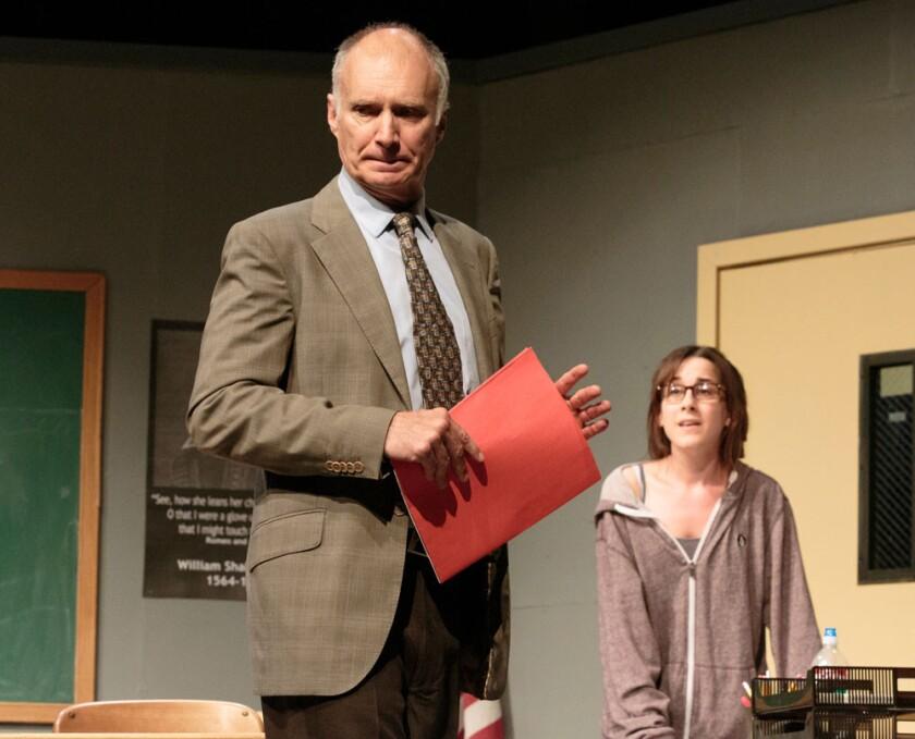 "Jeff Hayenga and Jayne McLendon in ""The Dream of the Burning Boy"" at Malibu Playhouse."