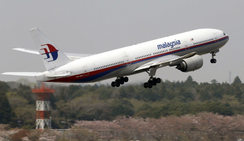 The missing Malaysia Airlines plane is a Boeing 777-200, similar to this one shown leaving Tokyo last year.