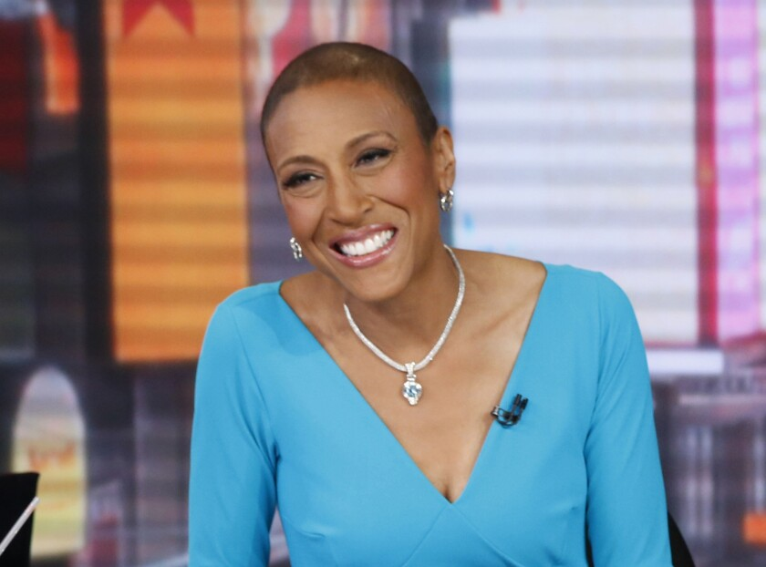 """""""Good Morning America's"""" Robin Roberts revealed information about her return to the hospital on her Facebook page early Thursday."""