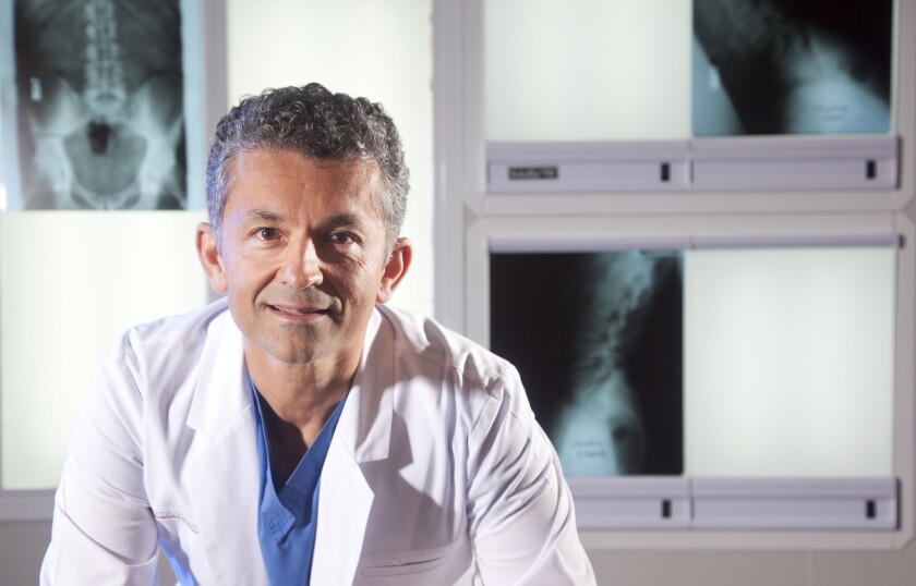Kamshad Raiszadeh, M.D. is the Medical Director of the Spine Institute of San Diego.