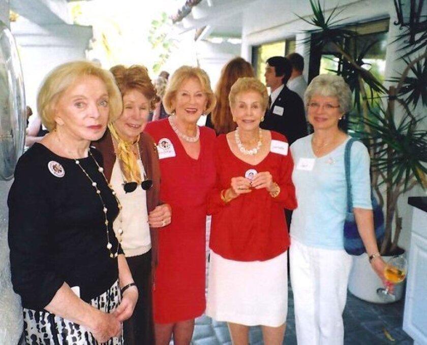 Brett Dieterich, Mary Humphrey, Rosemary Nauret, Jeanette Webb, and Gail Kendall