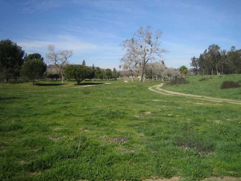 The northern part of the old San Luis Rey Downs golf course in Bonsall will become an active county park in a few years