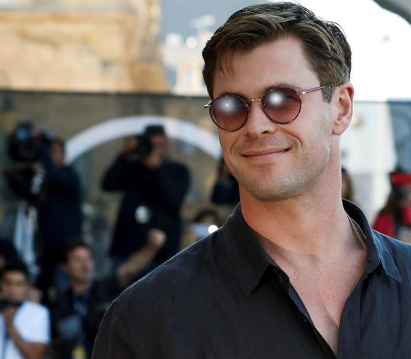 El actor australiano Chris Hemsworth a su llegada al hotel que aloja a los invitados de la 66 edición del Festival Internacional de Cine de San Sebastián, el 29 de septiembre de 2019. EFE/Archivo