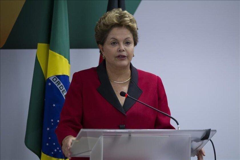 La presidenta brasileña, Dilma Rousseff. EFE/Archivo