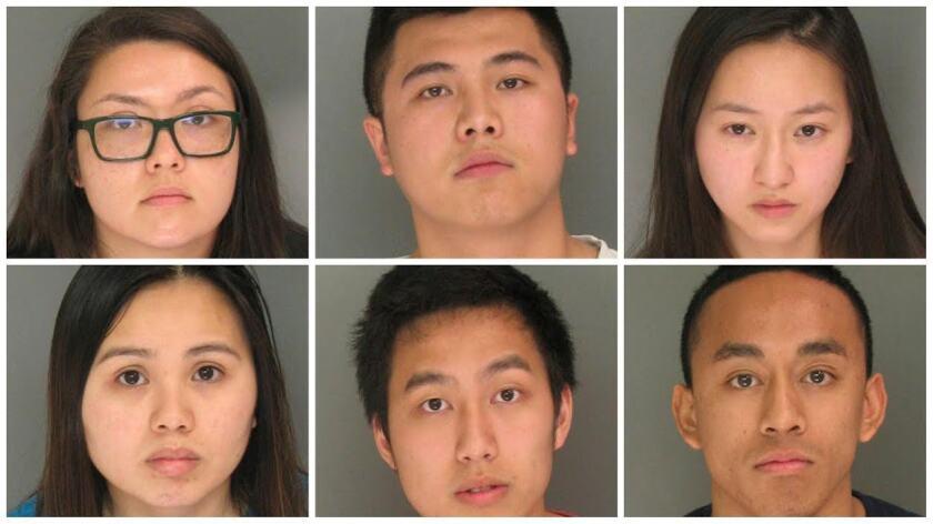 Six UCSC students arrested