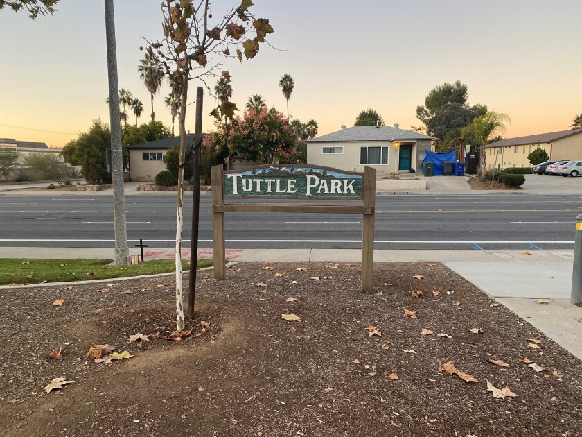 Stephen Anthony Harris was struck by a car and killed Nov. 25 on West Chase Avenue, directly across from the Tuttle Park sign