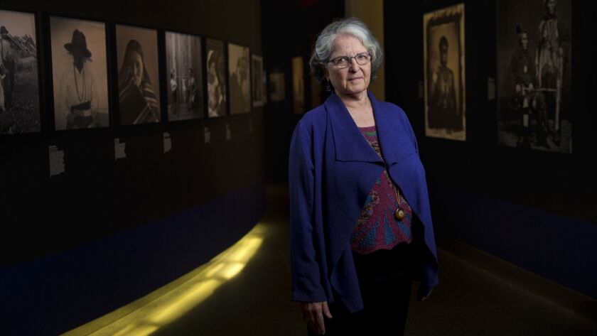 Anne Wilkes Tucker, curator of a new exhibition of photography from the Library of Congress, at the Annenberg Space for Photography in Los Angeles.