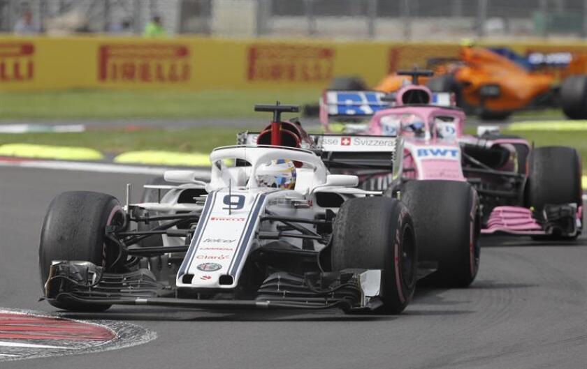 Fotografía de archivo del Gran Premio de México en el Autódromo Hermanos Rodríguez, en Ciudad de México (México). EFE/Archivo