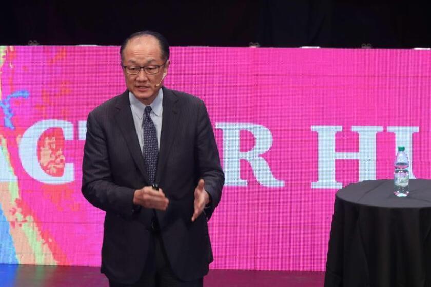 El presidente del Banco Mundial (BM), Jim Yong Kim. EFE/Archivo
