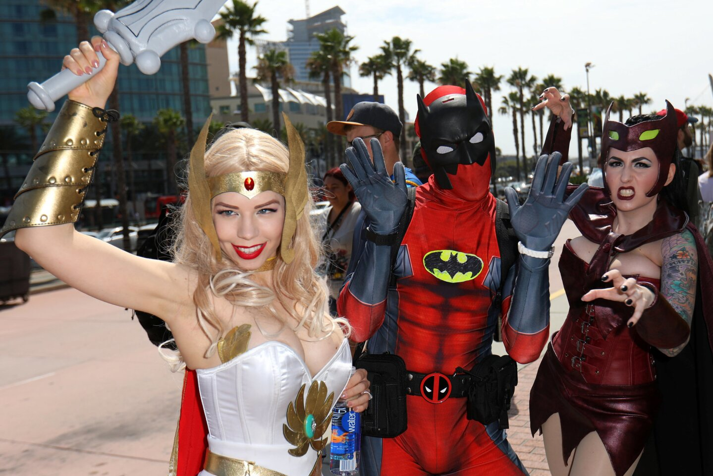 Scene and be Seen at Comic Con