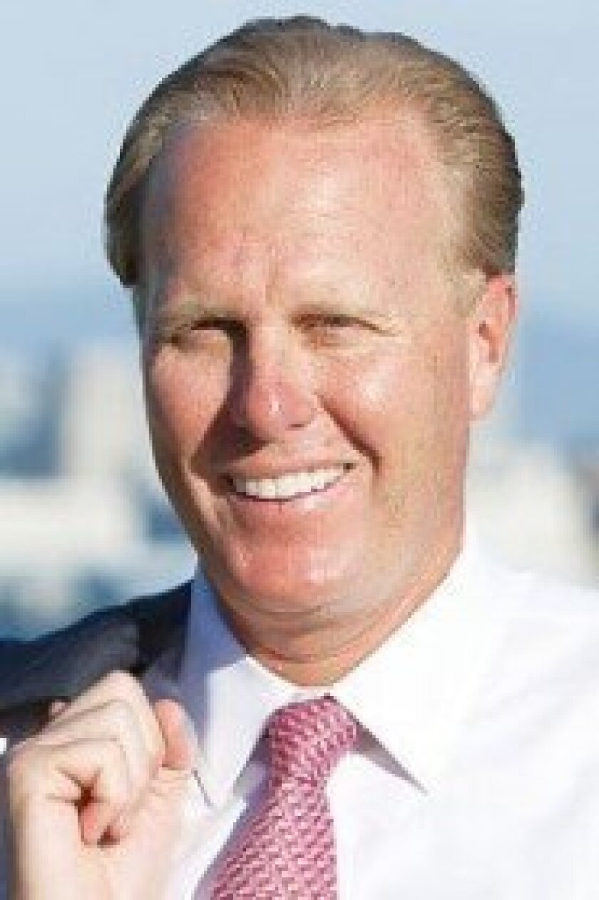 City Councilmember and Republican candidate Kevin Faulconer