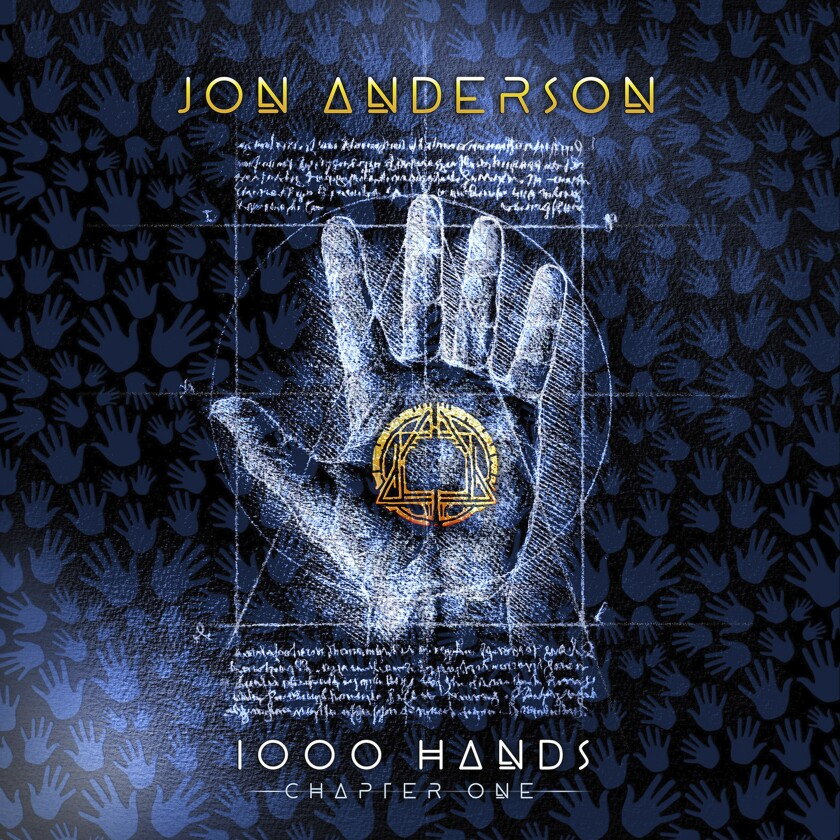 "This cover image released by Blue Elan Records shows ""1000 Hands"" by Jon Anderson. (Blue Elan Records via AP)"