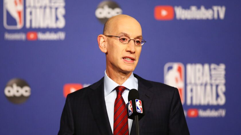 2019 NBA Finals - NBA Commissioner Adam Silver Press Conference